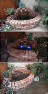 How To Make A Pea Gravel Patio 20 Incredibly Creative Ways To Reuse Old Bricks Diy U0026 Crafts