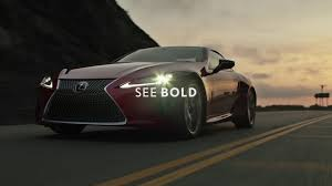 lexus singapore lexus lc see bold youtube