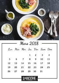 fond ecran cuisine calendrier labeyrie de mars labeyrie leblog