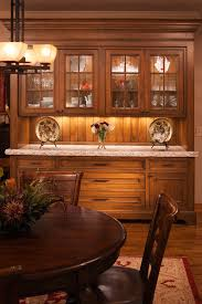 Dining Room Bar Cabinet Baroque Buffet Hutch In Dining Room Traditional With Built In