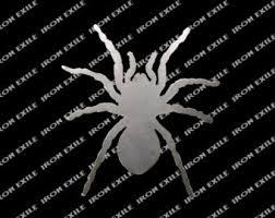 Decorative Spiders Metal Spider Etsy