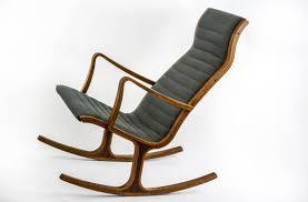 nice looking mid century modern rocking chair living room