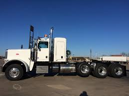 used peterbilt trucks 2015 peterbilt 389 heavy haul 4 axle 550 cummins 18 speed on sale