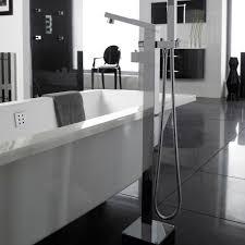 Bath Shower Thermostatic Mixer Kubix Freestanding Thermostatic Tub Shower Mixer Faucet Shower Kit