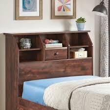 sauder orchard hills bookcase headboard better homes and gardens leighton twin bookcase headboard curado