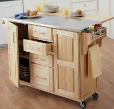 kitchen room 2017 wooden portable kitchen island square maple in