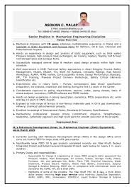 Sample Resume Format Uk by Download Rotating Equipment Engineer Sample Resume