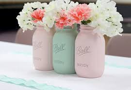 jar flower arrangement painted jars flowers arrangements 2 hupehome
