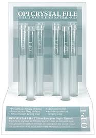 essie glass nail file nail review