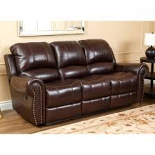 Leather Sofa With Recliner Leather Sofa Recliners Foter