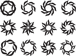 sun tribal tattoo tattoo sun flame tribal design vector art royalty free cliparts