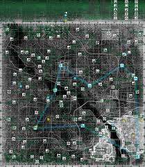 Fallout 3 Map by Fallout3 Map Jpg