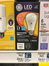 Ge Led Light Bulbs Rite Aid Ge Led Light Bulbs Only 0 99 Starting 9 3 Ftm