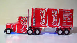 diy coca cola truck plans youtube