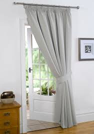 Standard Curtain Length South Africa by Dreamscene Thermal Pencil Pleat Pair Of Blackout Curtains
