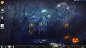 windows 7 theme halloween