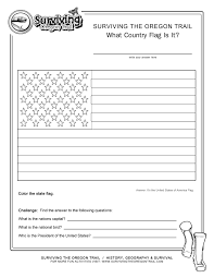 coloring page state flag usa printable worksheet surviving the