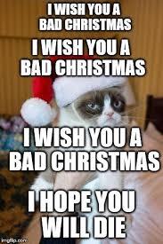 Christmas Grumpy Cat Meme - grumpy cat christmas meme imgflip