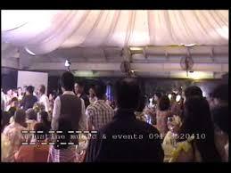 Wedding Reception Program Sample Wedding Reception Program Sample Script Mario Lupato Youtube