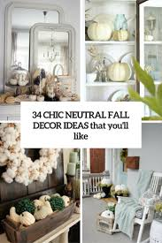 Pheasant Home Decor by 34 Chic Neutral Fall Décor Ideas You U0027ll Like Digsdigs