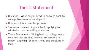 weak thesis statement thesis statement the summary sentence that supports your opinions 11 thesis statement