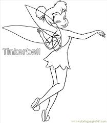 tinkerbell coloring pages 01 coloring free tinkerbell