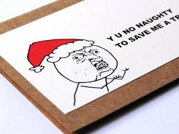 Customized Memes - like a sir meme christmas card gentleman handmade by papernsort