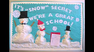 christmas bulletin board decorations ideas youtube