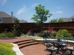 Sunken Patio Learn About Landscape Budget Considerations With Shades Of Green