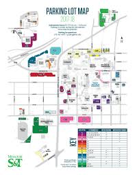 Smu Map Missouri S U0026t Parking Lot Operations