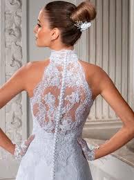 vintage summer wedding dresses gorgeous a line high neck wedding dress cheap lace sheer