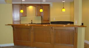 bar alluring simple basement bar ideas with images about