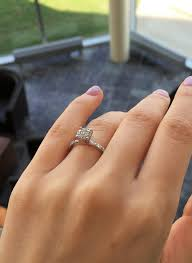 dainty engagement rings who has a dainty the daintiest engagement ring let s see it