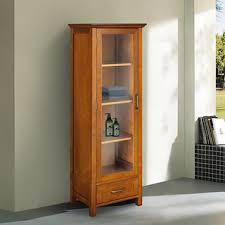 Linen Tower Cabinets Bathroom - chamberlain linen tower storage cabinet overstock com shopping
