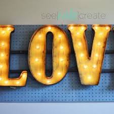 make your own light up sign make your own light up marquee style numbers and letters for any