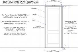 Standard Door Width Exterior Awesome Standard Door Opening Exterior Gallery Best
