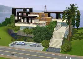 hillside homes superb hillside home plans with beach landscape homescorner com