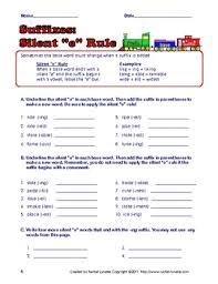 free 5 prefix suffix and roots worksheets with answer keys