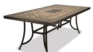 Aluminum Patio Dining Set Jaxon Aluminum Outdoor Table Poly Wood Silverslate Gray In
