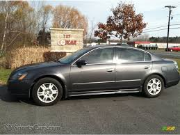grey nissan altima 2005 nissan altima 2 5 s in smoke metallic 498026 nysportscars
