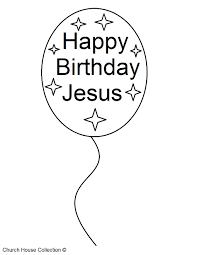 happy birthday jesus coloring page free download