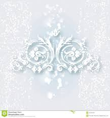 white ornament for design stock vector illustration of typographic