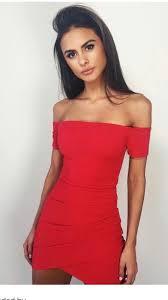 dress red dress red lipstick off the shoulder off the shoulder