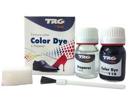 trg the one self shine leather dye kit the best leather shoe dye