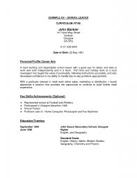 Good Nursing Resume Examples by Curriculum Vitae How To Write A Perfect Cover Letter Typical Cv