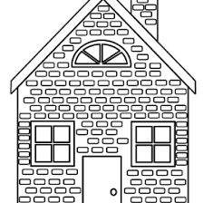 pigs houses coloring pages coloring pages kids stick