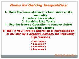 algebra solving inequalities 7th grade math youtube