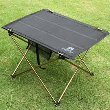 Camping Picnic Table Outdoor Folding Table Camping Aluminium Alloy Picnic Table