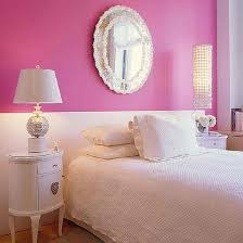 bedroom cute bedroom ideas for light pink wall with round red