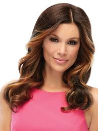 Clip In Hair Extensions Baton Rouge by Top Level Monofilament Hairpiece By Jon Renau